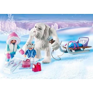 Obrázek 3 produktu Playmobil 9473 Sněžný muž a sáně