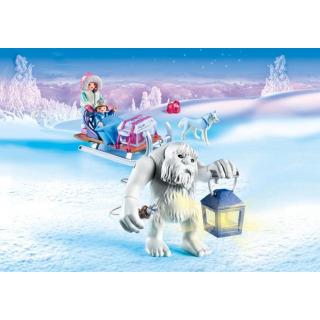 Obrázek 4 produktu Playmobil 9473 Sněžný muž a sáně