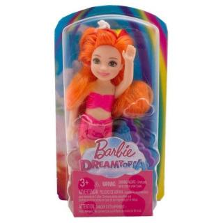 Obrázek 4 produktu Barbie Chelsea Mořská panna - oranžové vlasy, Mattel FKN05