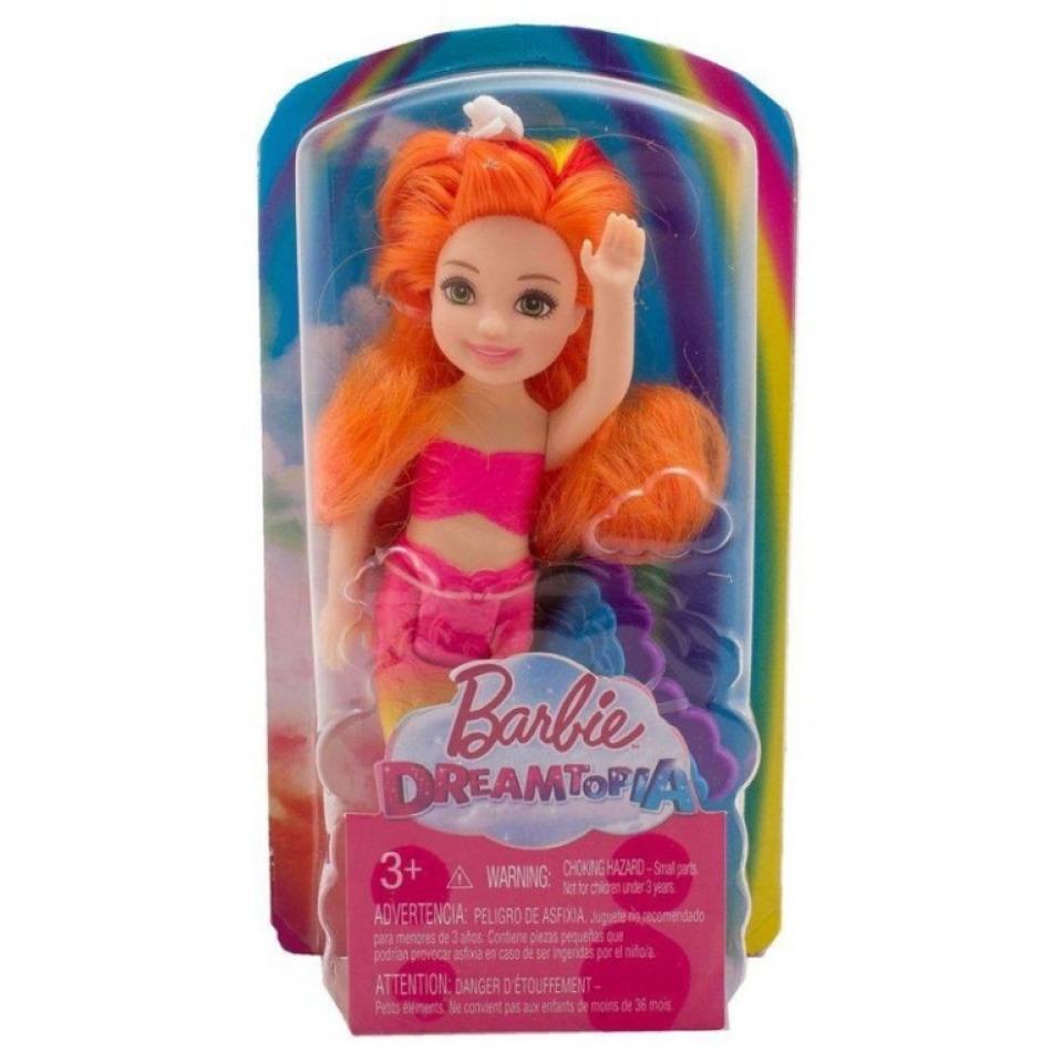 Obrázek 3 produktu Barbie Chelsea Mořská panna - oranžové vlasy, Mattel FKN05