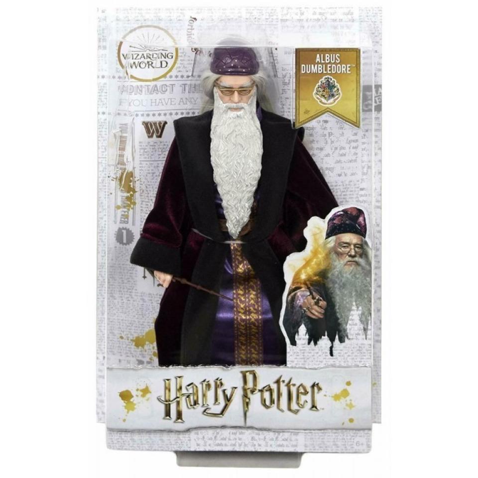 Obrázek 1 produktu Mattel Harry Potter Tajemná komnata Profesor Brumbál, FYM54