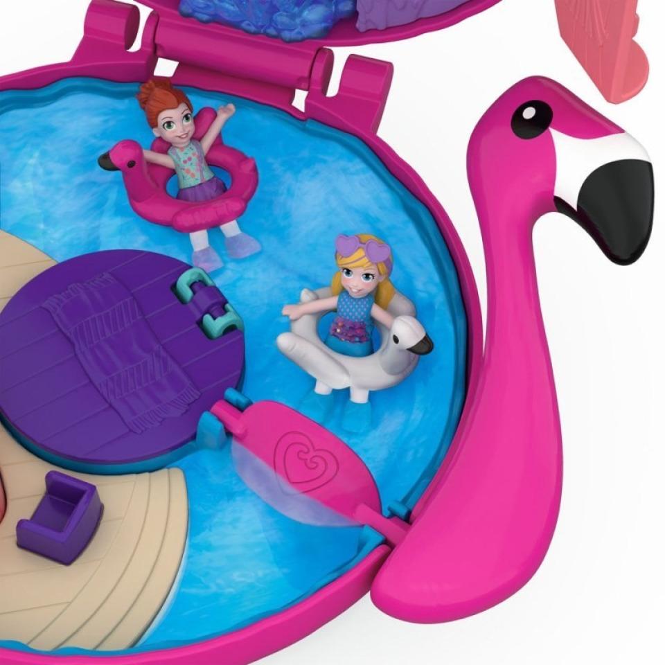 Obrázek 2 produktu Polly Pocket Bazén plameňák FRY38