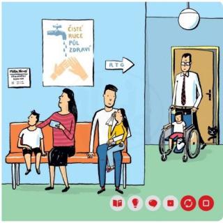 Obrázek 2 produktu Albi Kouzelné čtení Minikniha - Lékař