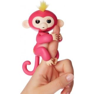 Obrázek 2 produktu Fingerlings Opička Bella růžová