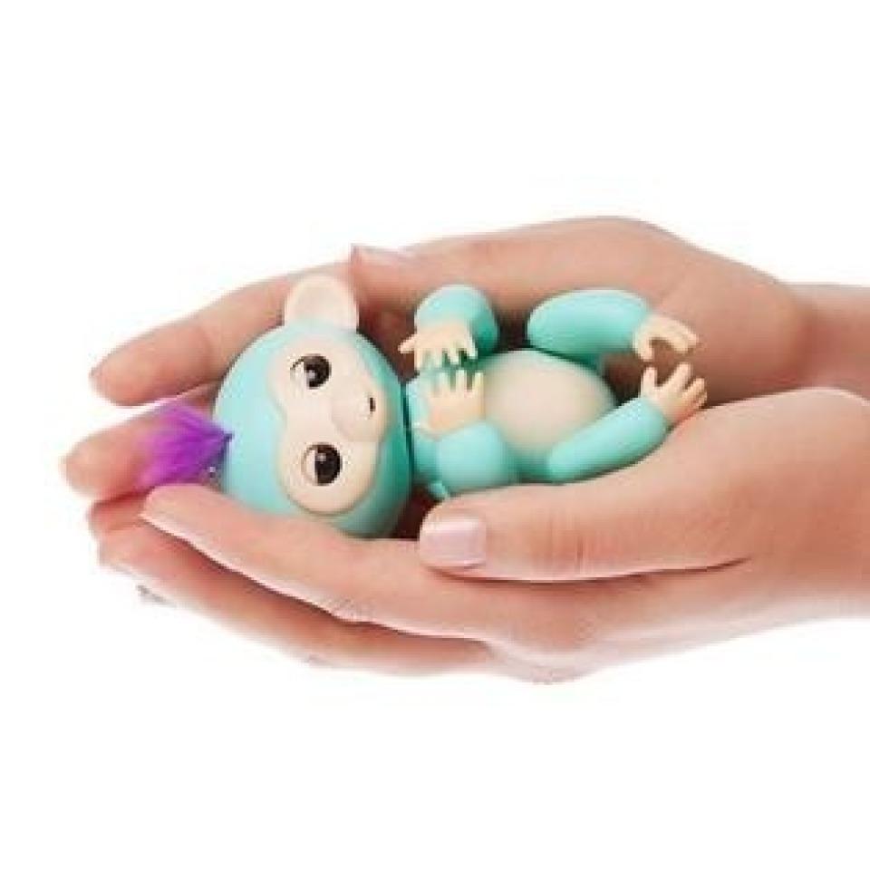 Obrázek 2 produktu Fingerlings Opička Zoe tyrkysová