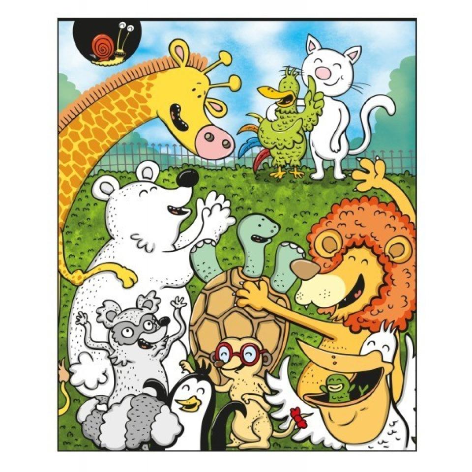Obrázek 1 produktu Albi Kouzelné čtení Zvířátka v ZOO
