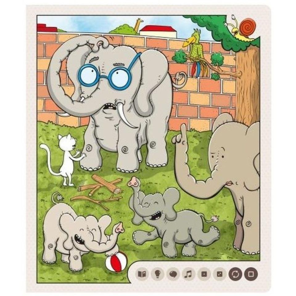 Obrázek 4 produktu Albi Kouzelné čtení Zvířátka v ZOO