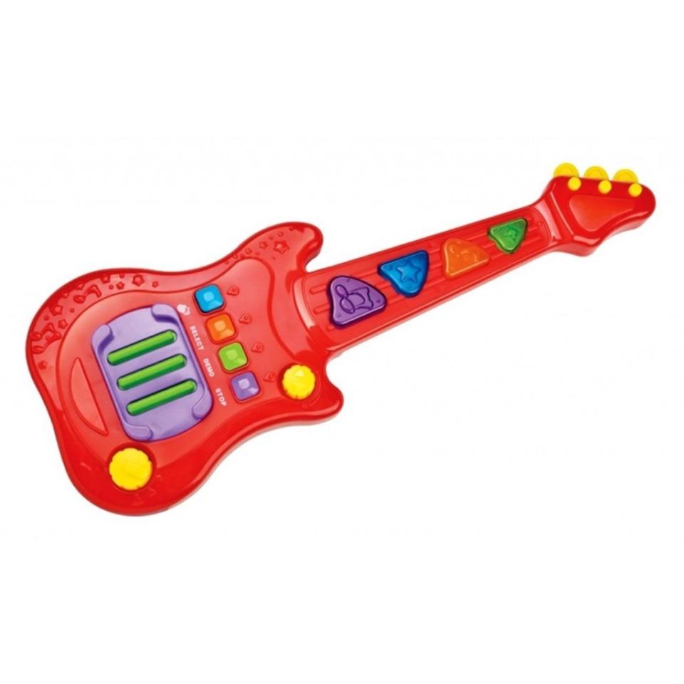 Obrázek 1 produktu RedBox Dětská elektronická kytara 48 cm, světlo, zvuk
