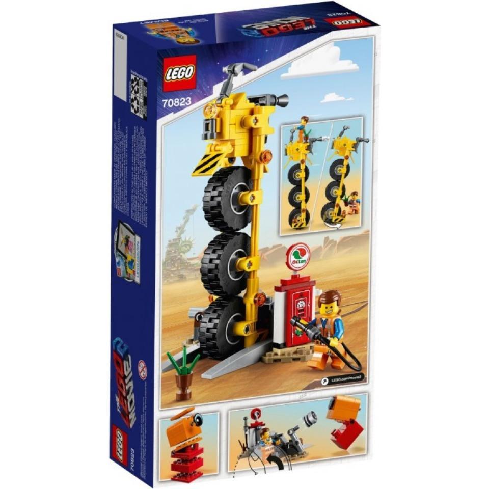 Obrázek 1 produktu LEGO Movie 70823 Emmetova tříkolka!