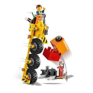 Obrázek 4 produktu LEGO Movie 70823 Emmetova tříkolka!