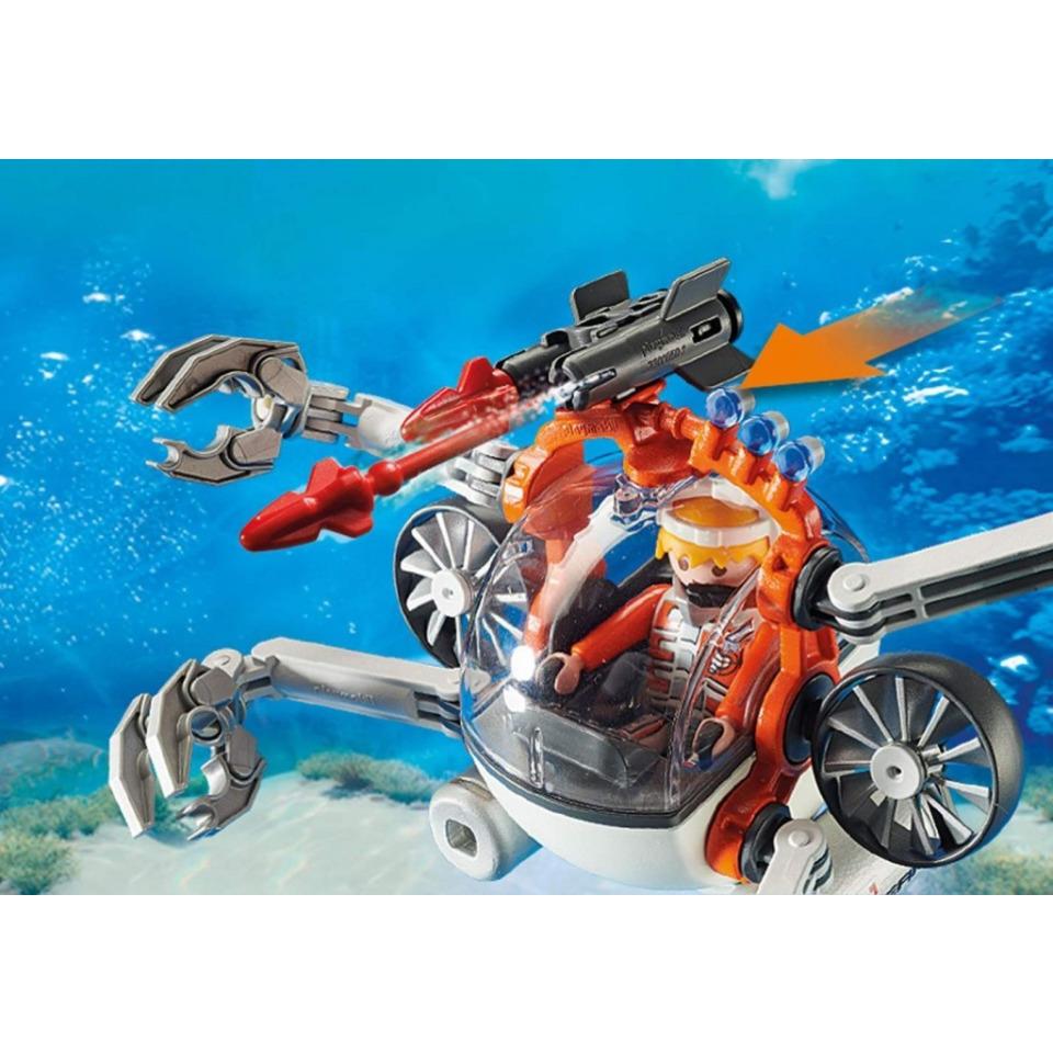 Obrázek 2 produktu Playmobil 70003 Spy Team Mini ponorka