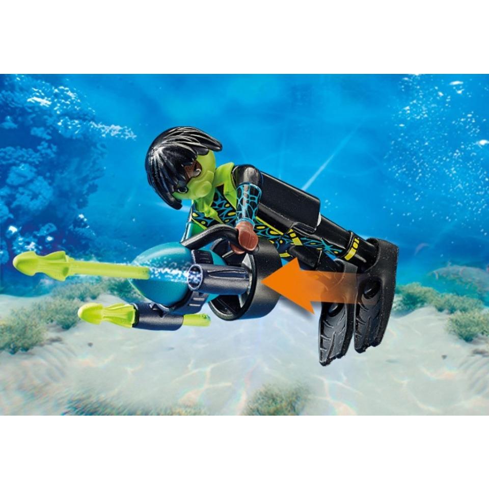 Obrázek 3 produktu Playmobil 70003 Spy Team Mini ponorka