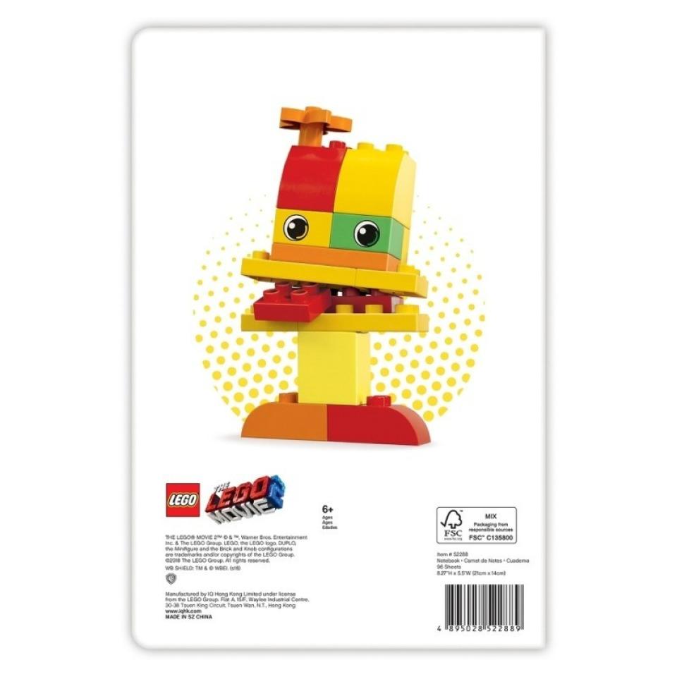 Obrázek 1 produktu LEGO MOVIE 2 Duplo, zápisník