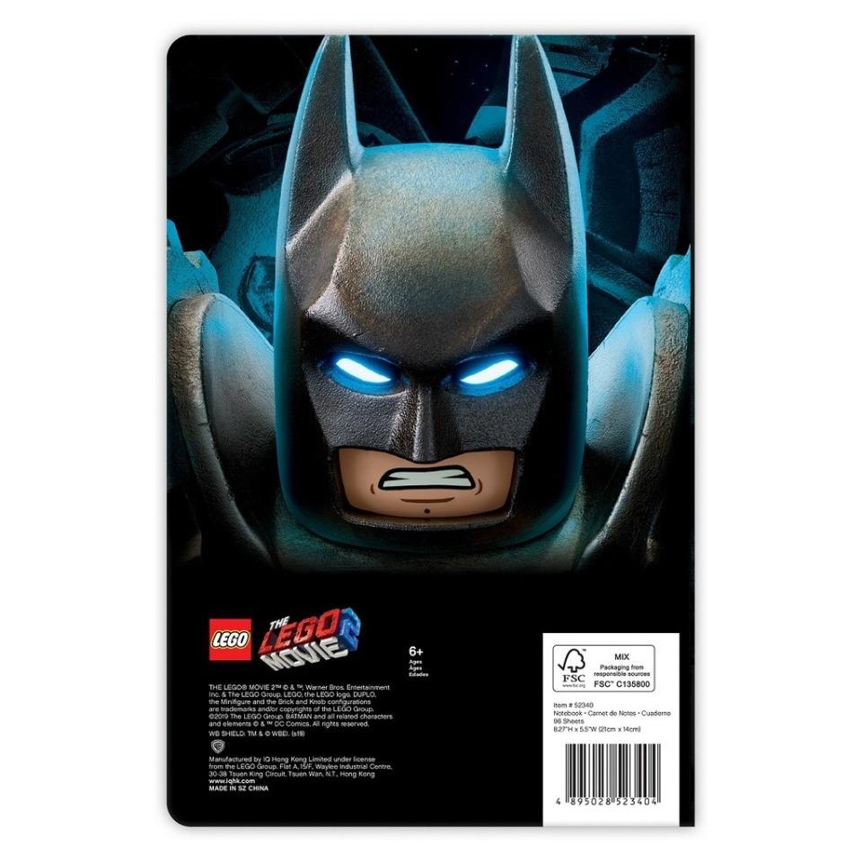 Obrázek 1 produktu LEGO MOVIE 2 Batman, zápisník
