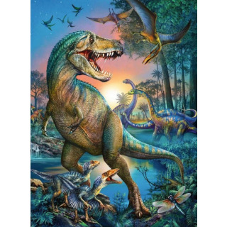 Obrázek 2 produktu Ravensburger 10052 Puzzle Prehistorický obr 150 dílků