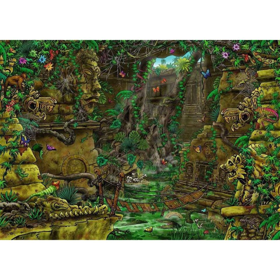 Obrázek 1 produktu Ravensburger 19951 Exit Puzzle: Chrám v Ankor 759 dílků