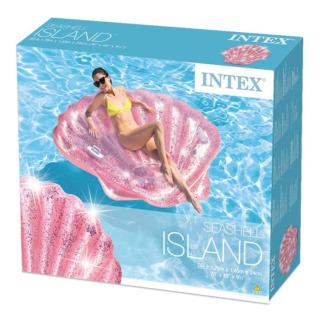 Obrázek 4 produktu Intex 57257 Nafukovací ostrov Růžová mušle