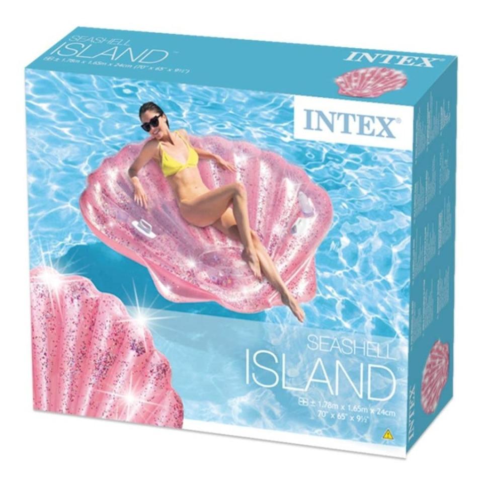 Obrázek 3 produktu Intex 57257 Nafukovací ostrov Růžová mušle