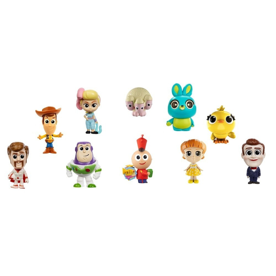 Obrázek 1 produktu TOY STORY 4: Příběh hraček Kolekce 10 minifigurek