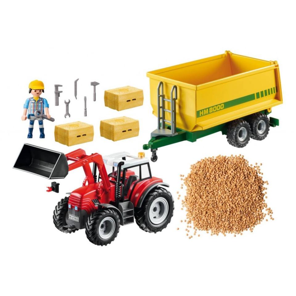 Obrázek 1 produktu Playmobil 70131 Traktor s vlečkou