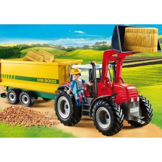 Obrázek 3 produktu Playmobil 70131 Traktor s vlečkou
