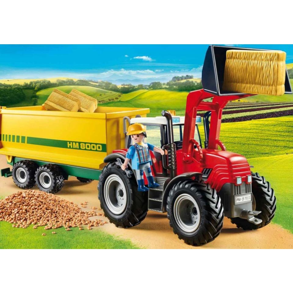 Obrázek 2 produktu Playmobil 70131 Traktor s vlečkou