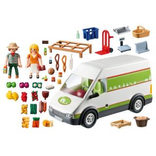 Obrázek 2 produktu Playmobil 70134 Pojízdná prodejna bioproduktů