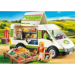 Obrázek 3 produktu Playmobil 70134 Pojízdná prodejna bioproduktů
