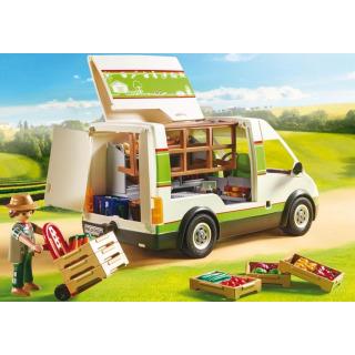 Obrázek 4 produktu Playmobil 70134 Pojízdná prodejna bioproduktů