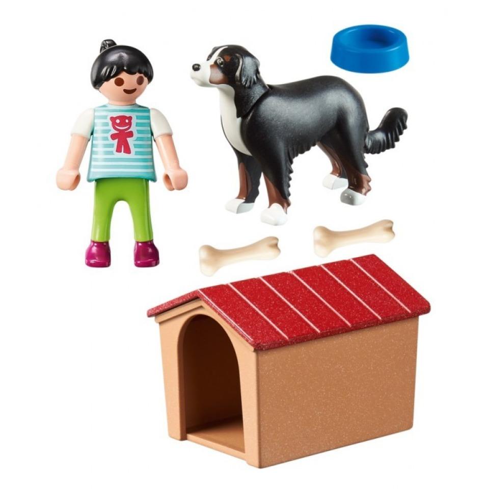 Obrázek 1 produktu Playmobil 70136 Švýcarský salašnický pes v boudě