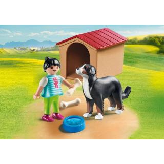 Obrázek 3 produktu Playmobil 70136 Švýcarský salašnický pes v boudě