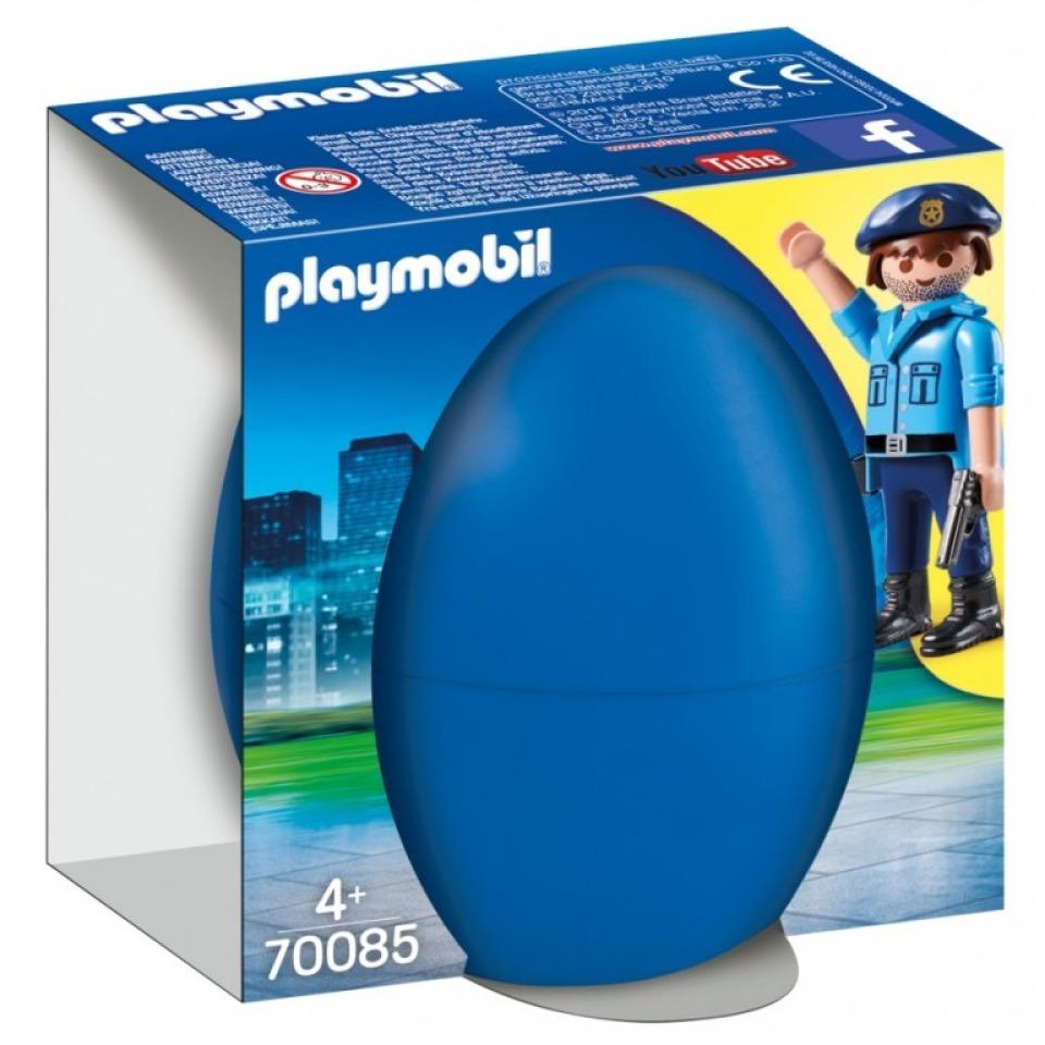Obrázek 1 produktu Playmobil 70085 Policista se psem, vajíčko