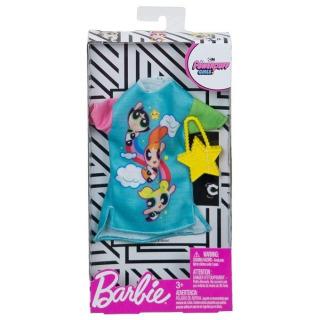 Obrázek 2 produktu Barbie Šaty Powerpuff girls módní set 2, Mattel FXK67
