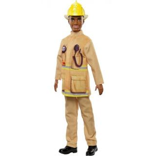 Obrázek 3 produktu Barbie Ken Požárník, Mattel FXP05