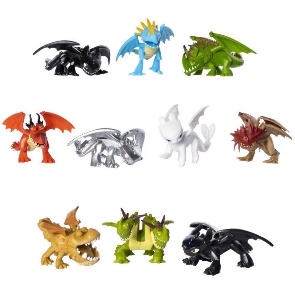 Obrázek 1 produktu Draci 3 sběratelské figurky v sáčku
