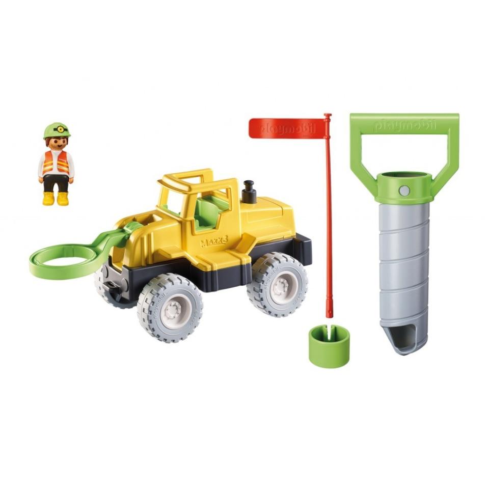 Obrázek 4 produktu Playmobil 70064 Vrtná souprava do písku
