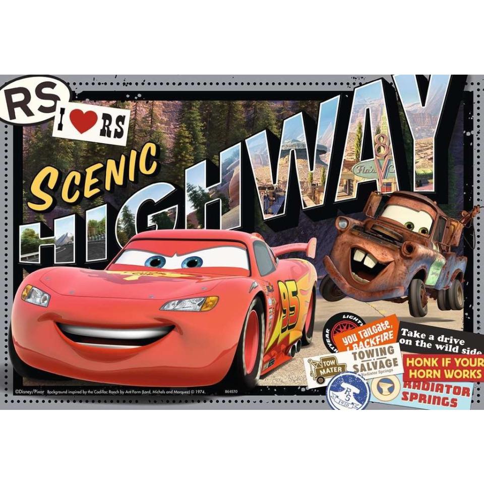 Obrázek 1 produktu Ravensburger 07819 Puzzle Cars 2x24 dílků