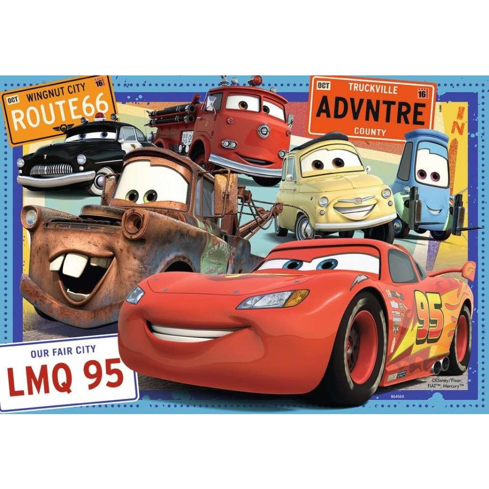 Obrázek 2 produktu Ravensburger 07819 Puzzle Cars 2x24 dílků