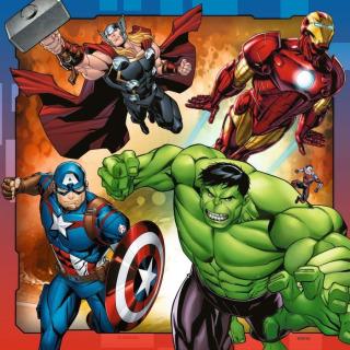 Obrázek 4 produktu Ravensburger 08040 Puzzle Disney Marvel Avengers 3x49 dílků