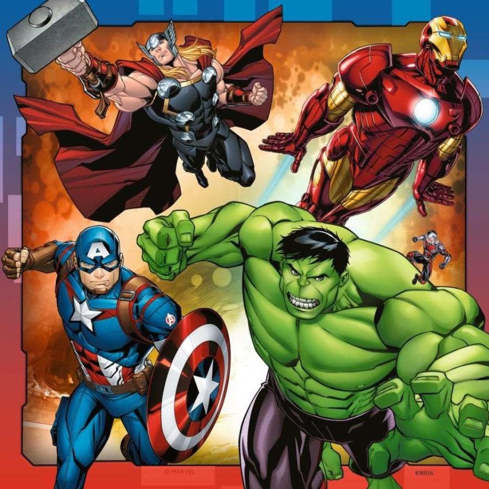 Obrázek 3 produktu Ravensburger 08040 Puzzle Disney Marvel Avengers 3x49 dílků