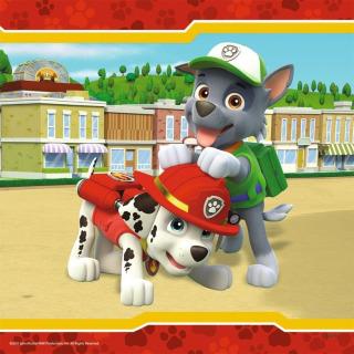 Obrázek 2 produktu Ravensburger 09369 Puzzle Tlapková Patrola: Chlupatí hrdinové 3x49 dílků