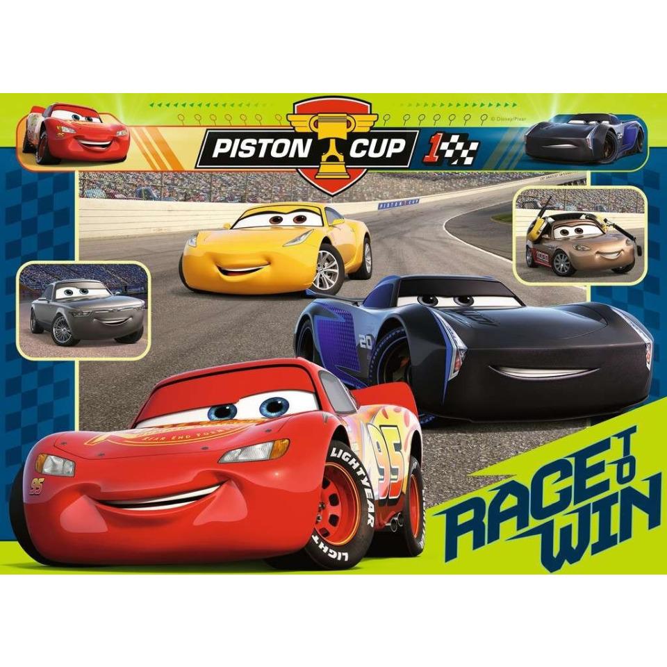 Obrázek 1 produktu Puzzle Disney Auta: Závod začíná 60 dílků, Ravensburger