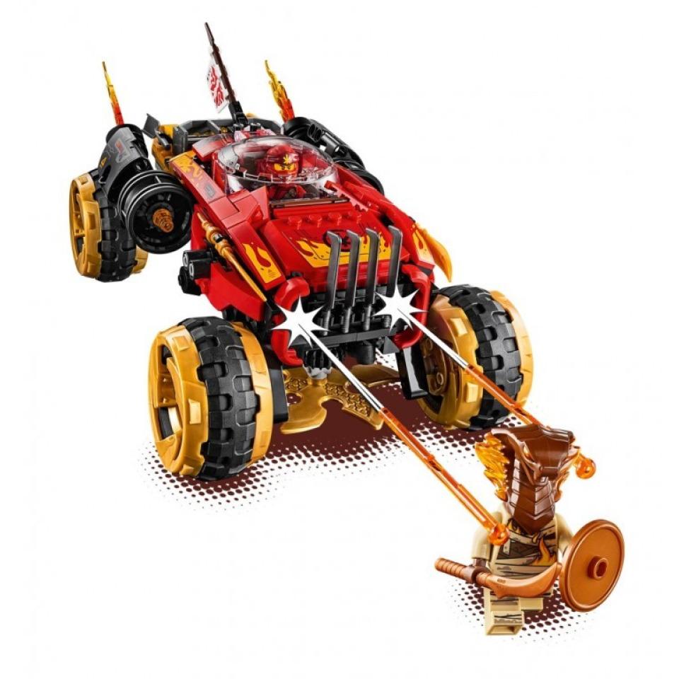 Obrázek 4 produktu LEGO Ninjago 70675 Katana 4x4