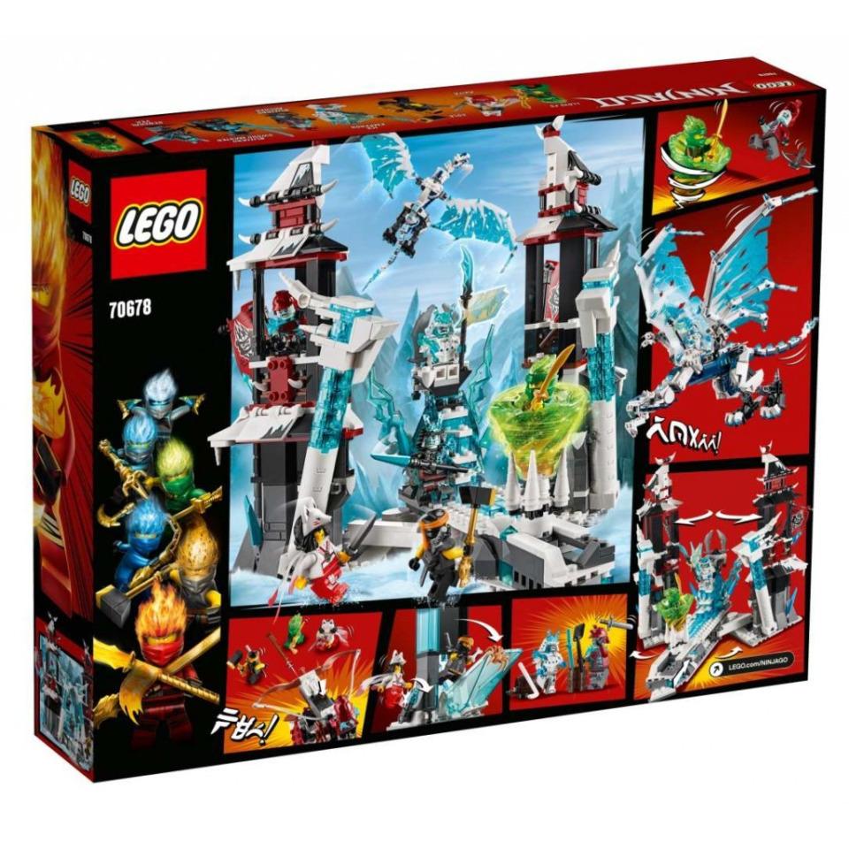 Obrázek 1 produktu LEGO Ninjago 70678 Hrad zapomenutého císaře