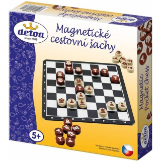 Obrázek 2 produktu Magnetické cestovní šachy, Detoa