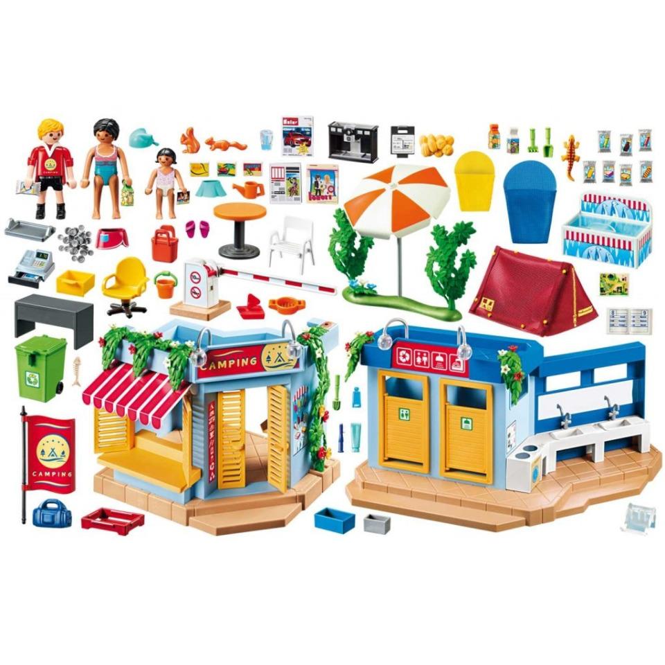 Obrázek 1 produktu Playmobil 70087 Velký kemp