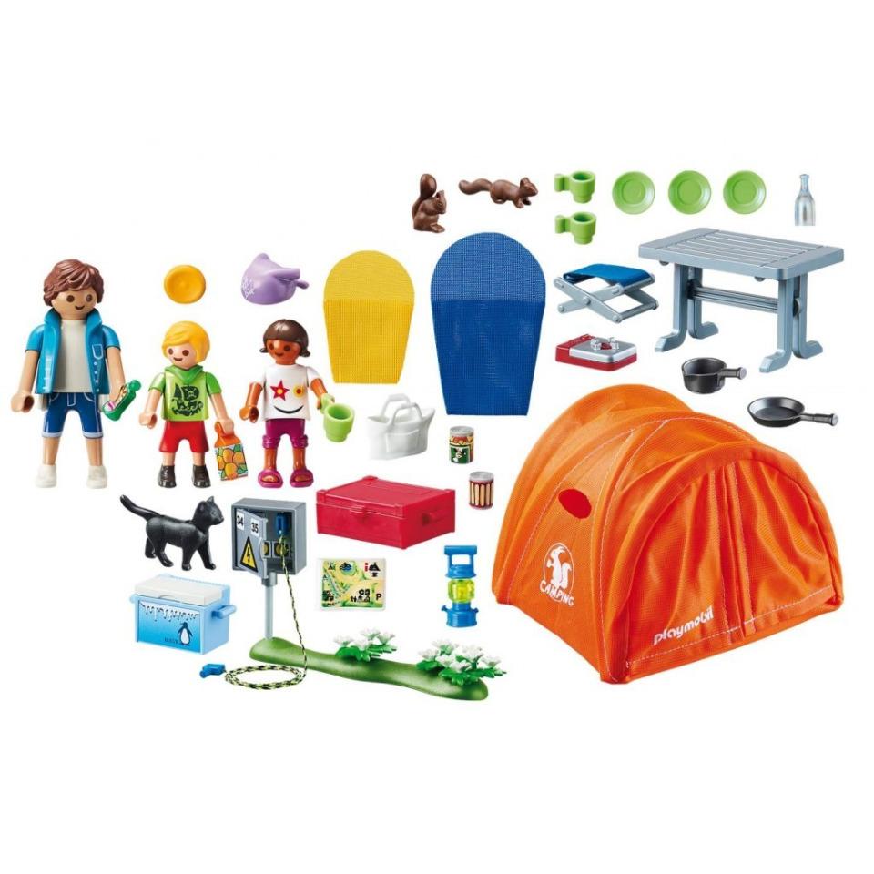 Obrázek 1 produktu Playmobil 70089 Rodinný kemping