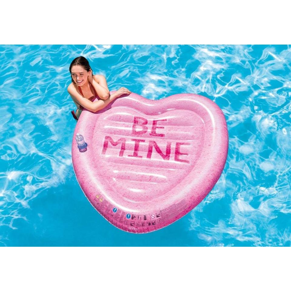 Obrázek 1 produktu Intex 58789 Nafukovací matrace Srdce