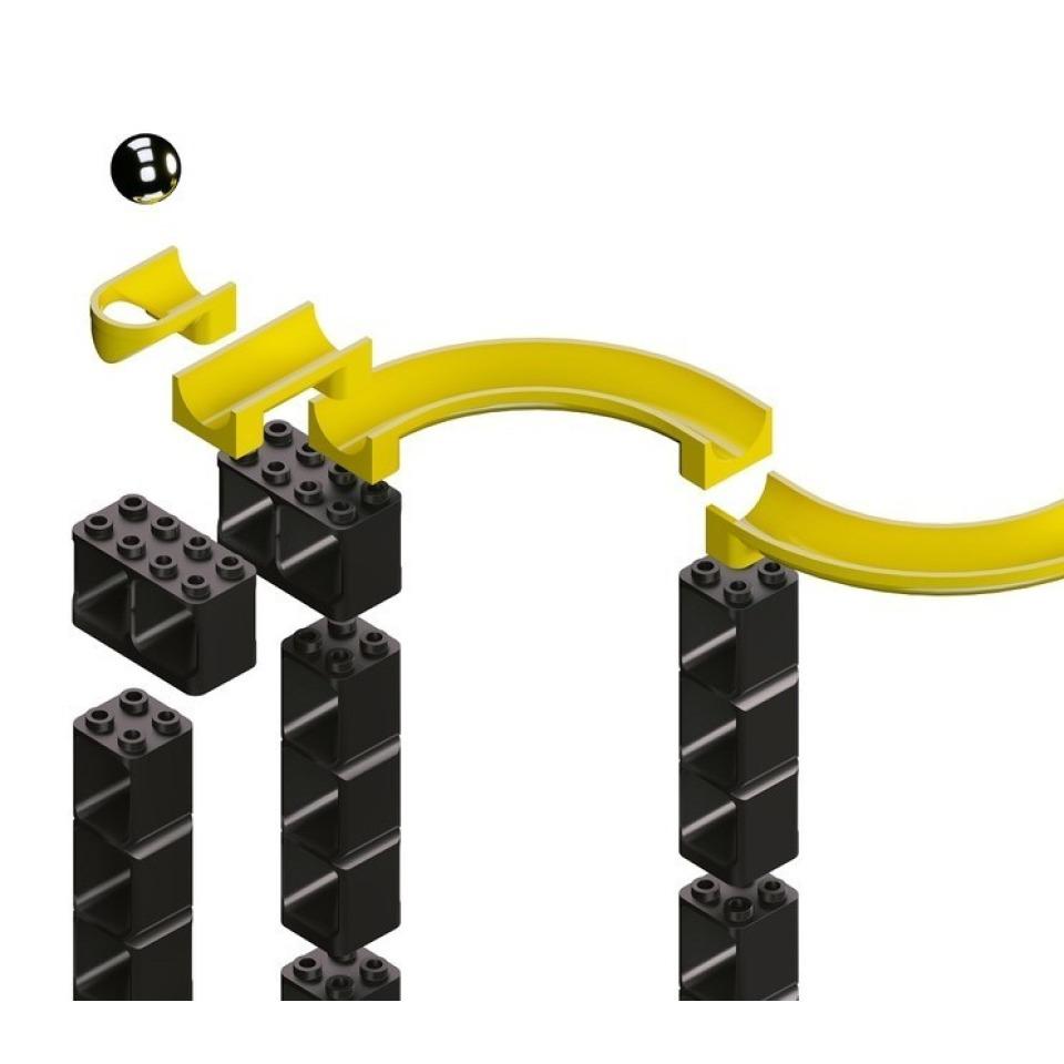 Obrázek 4 produktu HUBELINO Pi Kuličková dráha - set s kostkami XL 246 ks