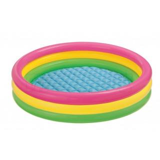 Obrázek 2 produktu Intex 57412 Dětský bazén duhový 114x25cm